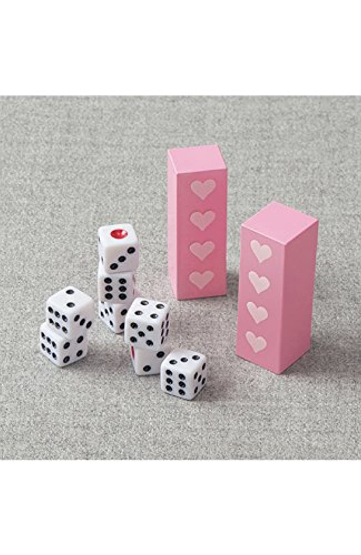 (フェリシモ) あなたもプチマジシャン 魔法のコミュニケーションでまわりも自分も輝き出す乙女手品グッズ タワーオブダイス マジック かんたん はじめて 470089-001