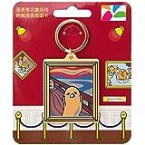 台湾限定 ぐでたま キーホルダー型 悠遊カード サンリオ 日本未発売 (叫び) [並行輸入品]