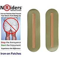 NoRiders 5-inch Iron-on Patches with Stays [6-Pack]