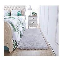 リビングルームのカーペットの寝室のベッドサイドの毛布かわいい床のマット厚いビロードの完全店 (色 : E, サイズ さいず : 1.4*2m)