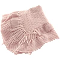 Pink Knit Shawl Blanket Baby Girl Feltman Brothers (Pink) by Feltman Brothers