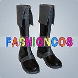 ★サイズ選択可★男性28CM UD124 ブラック・ブレット 里見蓮太郎 さとみ れんたろう コスプレ靴 ブーツ
