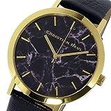 クリスチャンポール CHRISTIAN PAUL マーブル Marble BRIGHTON ユニセックス 腕時計 MR-09 ブラック[並行輸入品]