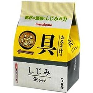 マルコメ おみそ汁の具 しじみ 5食×12袋
