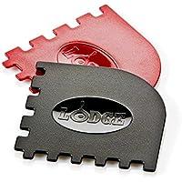 Lodge Manufacturing SCRAPERGPK Grill Pan Scraper, 2-Pack [並行輸入品]