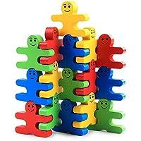 Funny Toyyベビー木製おもちゃブロックバランスゲーム建物ブロック子供の初期の教育レンガおもちゃテーブルゲームおもちゃPlay With Friend