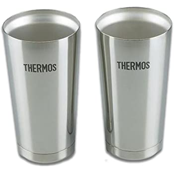 サーモス 真空断熱タンブラー2個セット シルバー 400ml JMO-GP2