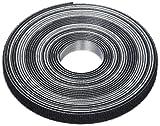 TRUSCO マジックバンド結束テープ 両面 幅10mmX長さ5m 黒 MKT10VBK