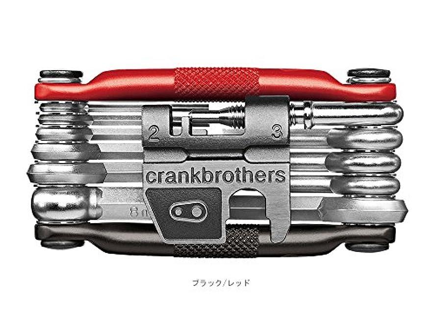 着飾るメイエラ男CRANKBROTHERS(クランクブラザーズ) M17 (マルチ17) 携帯ツール ブラック/レッド