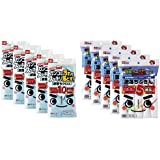 【セット買い】レック 激落ち クロス マイクロファイバー 10枚入 ×5個パック (計50枚)+レック 激落ち ふきん お徳用 5枚入×5個パック 計25枚