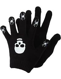 キッズ?子供?ジュニア ハロウィーンのデザイン 滑り止めグリップつき マジックグローブ ニット手袋