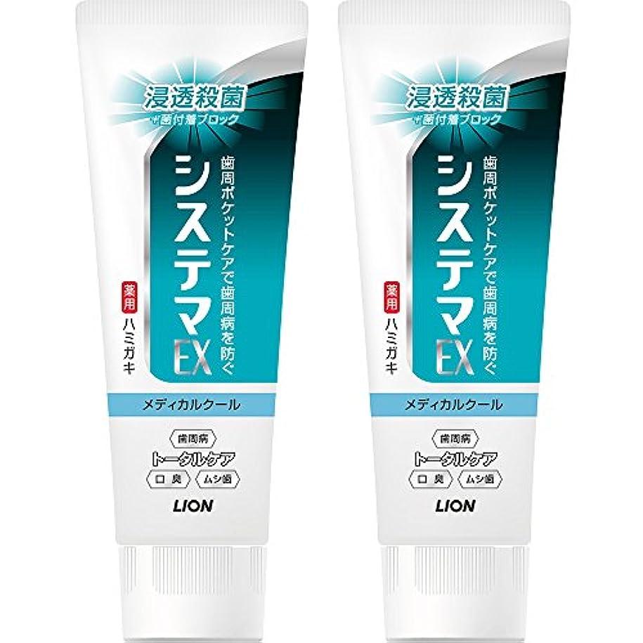 適性韓国語ジュニアシステマEXハミガキ メディカルクール タテ型 130g×2個パック (医薬部外品)