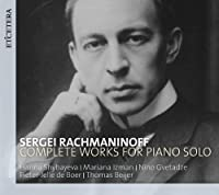 Complete Works For Piano Solo by R. Rachmaninov (2012-11-13)