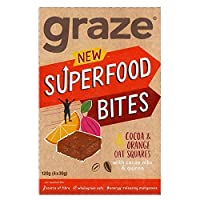 [Graze ] キノア&スーパーカカオニブ4×30グラムとココア&オレンジフラップジャックを放牧 - Graze Cocoa & Orange Flapjack with Quinoa & Super Cacao Nibs 4 x 30g [並行輸入品]