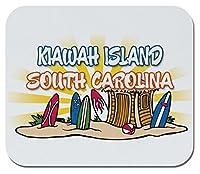 makoroni–Kiawah島、サウスカロライナ州–ノンスリップゴムマウスパッド、ゲームOfficeマウスパッド
