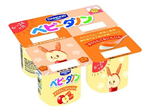 ダノン ベビーダノン すりりんご&にんじん (45g×4) 6パック入