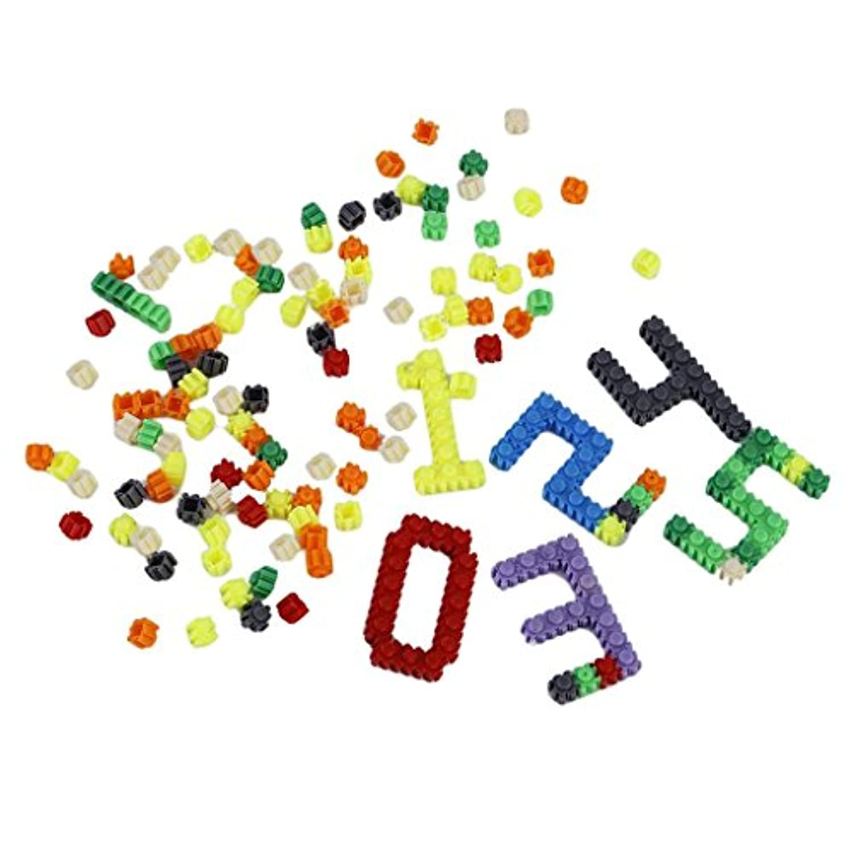 monkeyjack 200pcsプラスチックパズルビルディングブロックレンガ子供キッズ教育玩具