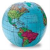 Inflatable World Globe 地理 社会教材 膨らませる地球儀 (ビーチボール型)