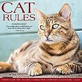Cat Rules 2022 Wall Calendar
