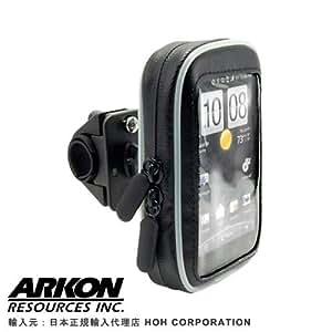 ARKON(正規輸入品) 回転式 バイクハンドル用ホルダー&簡易防水ケース MK-2 iPod(touch,Video,classic),iPhone3GS,iPhone4S,iPhone5用