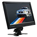 cocopar®10.1インチ(1280*800) 16:10 IPS HDMI/DVI/VGA/オーディオ/3.5mmヘッドホン口付きPS3/PS4/xbox360/oneゲームに適用するハイビジョン モニター パソコンディスプレイ Raspberry Pi3B 2B B A A B ラズベリーパイに適応できる  携帯型ディスプレスピーカー内蔵 (10.1-1280)