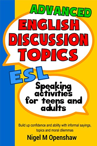 amazon advanced english discussion topics esl speaking activities