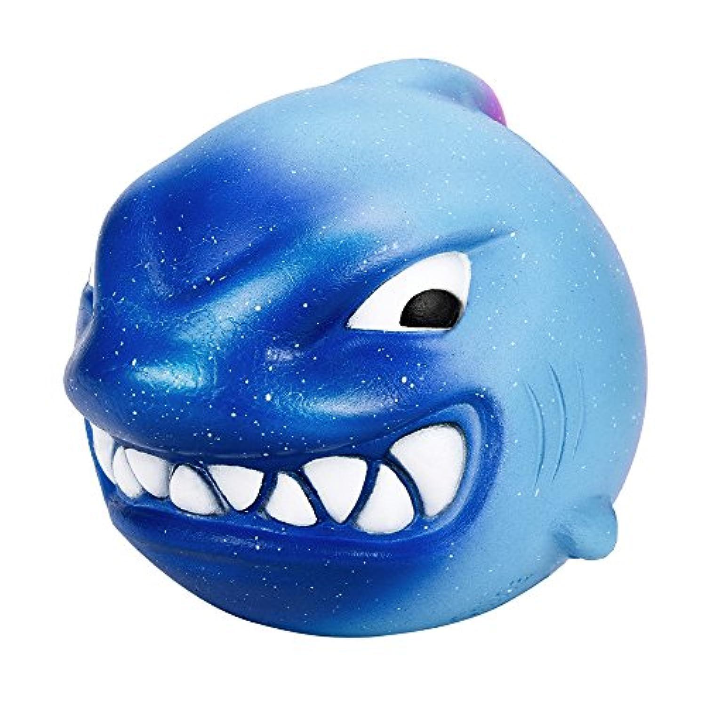 Squishies ジャンボ 低反発 子供用 Lovely Collection Toys かわいいかわいい12cm スクイーズ 大きなサメの香り ストレス解消おもちゃ ストレス解消おもちゃ