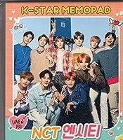 韓国 K-POP ☆NCT エヌシーティー☆ MEMOPAD メモパッド 4タイプ 200シート