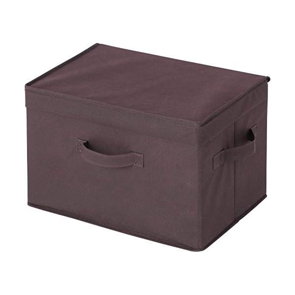 アストロ 収納ボックス 2個組 フタ付き ブラ...の紹介画像3