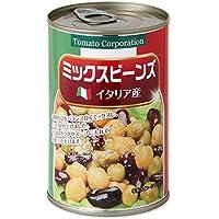 トマトコーポレーション ミックスビーンズ(イタリア産) EO缶 400g