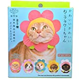 Kitan Club Cat Cap - Pet Hat Blind Box Includes 1 of 5 Cute Styles - Soft, Comfortable - Authentic Japanese Kawaii Design - Animal-Safe Materials, Premium Quality (Flower)