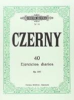 40 EJERCICIOS DIARIOS OP.337.(PIANO).(REF:EI0011)