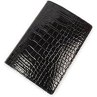 アクュード Cookday 日本製 本革 手帳カバー Made in Japan コッコ クロコ型押 A6サイズ用 - BDA6-02 BK ブラック
