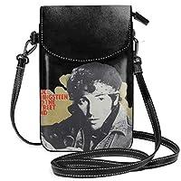 Bruce Springsteen ロング ミニバッグ レディース ショルダーバッグ 携帯ポーチ 軽量 便利 ショルダーバッグ 携帯電話の財布