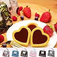 バレンタイン チョコレート 生チョコタルト チョコロン2個入 パッケージ:ゼブラ