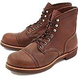 (レッドウィング) RED WING 8111 IRON RANGE BOOTS(アイアンレンジブーツ) Amber Harness Leather US8.5D(約26.5cm)