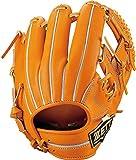 ZETT(ゼット) 硬式野球 ネオステイタス グラブ (グローブ) 内野手用 小さめサイズ オレンジ(5600) 右投げ用 BPGB25910