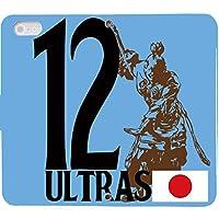 ULTRAS 手帳型 Xperia XZ 601SO(G003401_04) 専用 サッカー 日本 代表 サポーター センス 個性的 スマホケース