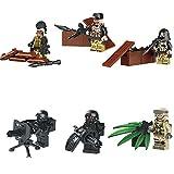 特殊部隊 テロリスト 6体武器セット レゴ カスタム LEGOカスタムパーツ アーミー