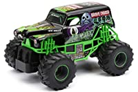 New Bright 2430 Monster Jam Grave Digger RC Truck, 1:24 (7-Inch) Scale モンスター ジャム グレイブ ディガー【海外輸入品】