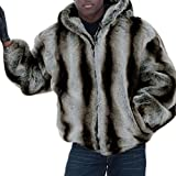 Liメンズ 毛皮コート ファーコート ショートコート ショート丈 メンズファッション ファー付き 良質毛皮コート おしゃれ 上着 暖かい 秋冬 厚手 防寒 人気 男性用 大きいサイズ S/M/L/XL/2XL/3XL