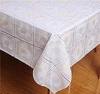 正方形のテーブルクロスを除菌した新モデルは耐热003白粉 120*120