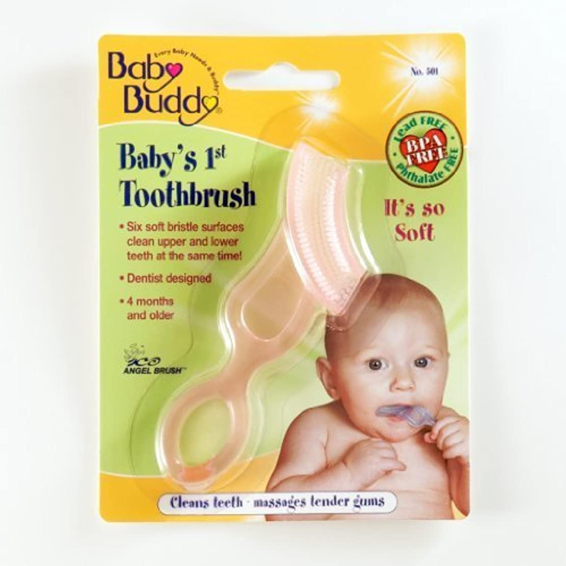 エキスパート矛盾鍔Baby Buddy: Baby's 1st Toothbrush by Baby Buddy [並行輸入品]