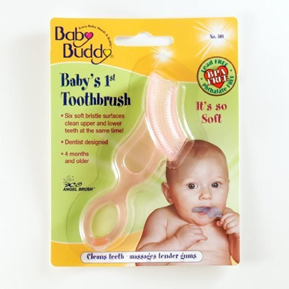 個人ひらめき治世Baby Buddy: Baby's 1st Toothbrush by Baby Buddy [並行輸入品]