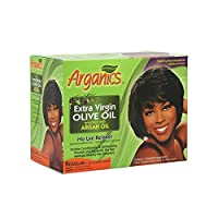 Arganics Double Moisturizing and Conditioning No Lye Relaxer Kit, Regular by Arganics