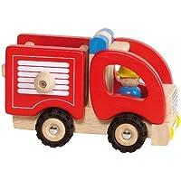 Feuerwehr: 16,7 x 9,1 x 10,5 cm, Holz, per Stueck