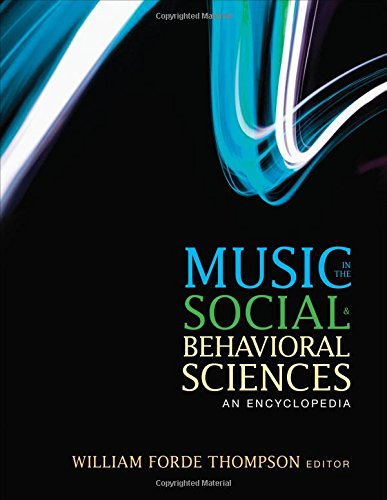 Download Music in the Social and Behavioral Sciences 1452283036
