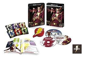 【Amazon.co.jp限定】【メーカー特典あり】シャザム! プレミアム・エディション 4K ULTRA HD & ブルーレイセット (限定生産/3枚組/ブックレット付)(オリジナルピンバッジ付) (DC×モンキー・パンチ オリジナルステッカー付) [Blu-ray]