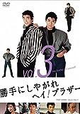 勝手にしやがれヘイ!ブラザー VOL.3[DVD]