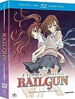 A Certain Scientific Railgun:Season 1(とある科学の超電磁砲):シーズン1(1話〜24話収録)(北米版) Blu-...